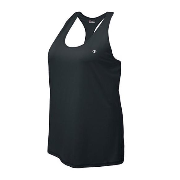 844d517a6ee89 🦋3/$15 Black Plus Champion Workout Tank NWT